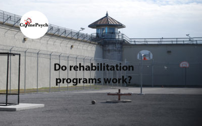 Do rehabilitation programs work?
