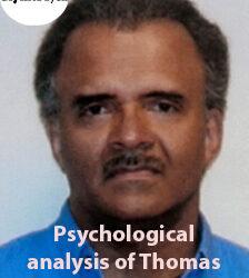 Psychological analysis of Thomas Sweatt