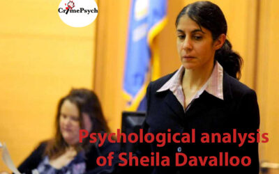Psychological analysis of Sheila Davalloo