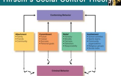 Attachment theory – 2 of 3. Hirchi's Social Control Theory.