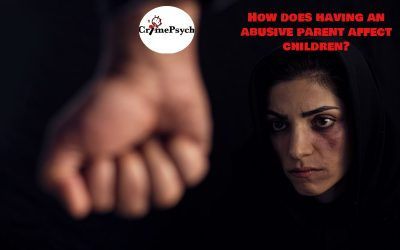 How does having an abusive parent affect children?