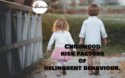 Childhood risk factors of delinquent behaviour.