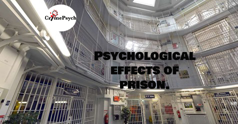 The psychological effects of prison