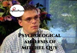 Psychological analysis of Mitchel Quy